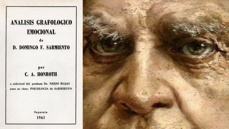 Sarmiento por Honroth, de la Biblioteca de Adriana Ziliotto