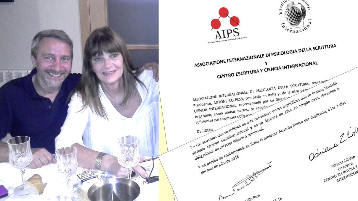 Antonello Pizzi-Adriana Ziliotto: Acuerdo marco