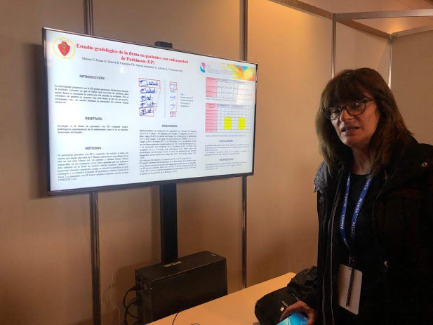 Ziliotto en el 56° Congreso de Neurología