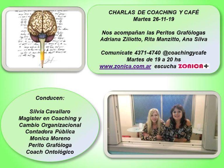 Todo sobre investigaciones y talleres en «Charlas de coaching y café» 2019